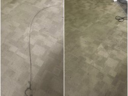 Carpet Shampooing Before After