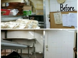 The Penny Black Kitchen Cleaning